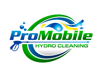 Pro Mobile Hydro Cleaning logo design