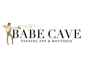 Babe Cave LV logo design