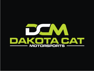 Dakota Cat Motorsports logo design by rief