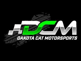 Dakota Cat Motorsports logo design by jaize