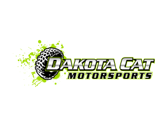 Dakota Cat Motorsports logo design by done