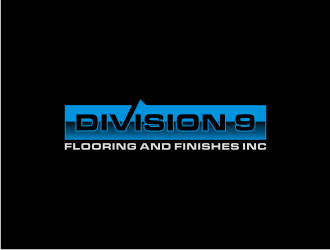 Division 9 Flooring and Finishes Inc logo design by asyqh