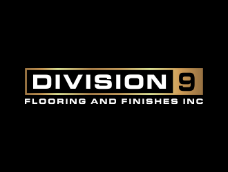 Division 9 Flooring and Finishes Inc logo design by akhi