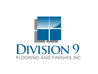 Division 9 Flooring and Finishes Inc logo design by kunejo
