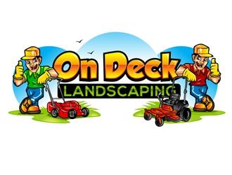 On Deck Landscaping logo design