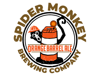 Spider Monkey Brewing Company  logo design