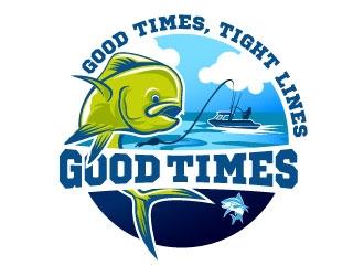 Good Times Sportfishing logo design