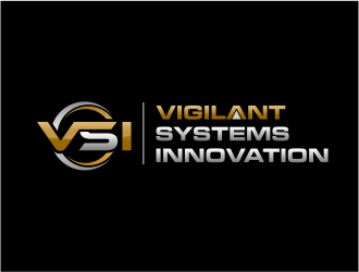 VSI Vigilant Systems Innovation  logo design
