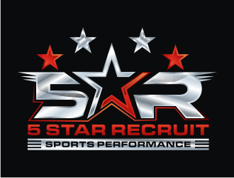 Five Star Recruit Sports Performance logo design