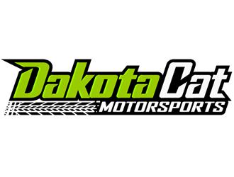 Dakota Cat Motorsports logo design by Coolwanz