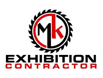 MK Exhibition Contractor logo design winner