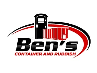 Bens Container and Rubbish logo design