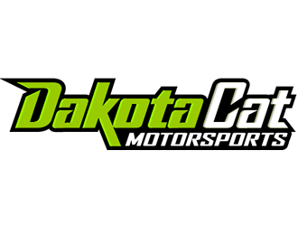 Dakota Cat Motorsports Logo Design