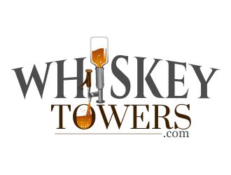 WhiskeyTowers.com logo design