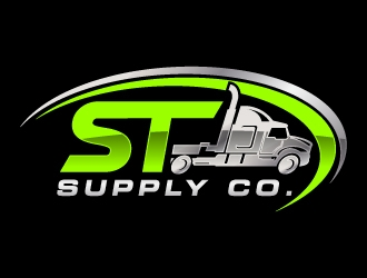 ST Supply Co. logo design
