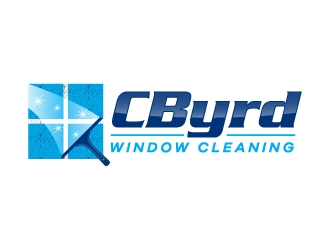 CByrd Window Cleaning  logo design