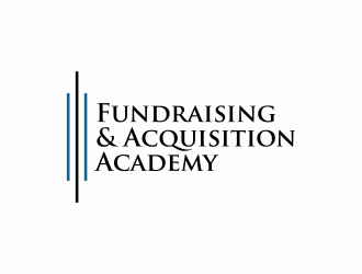 Fundraising & Acquisition Academy logo design