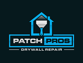 Patch Pros Drywall Repair logo design