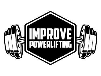 Improve Powerlifting logo design