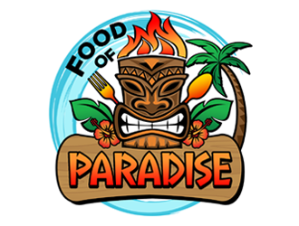 Food of Paradise logo design