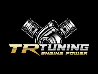 TR TUNING  logo design