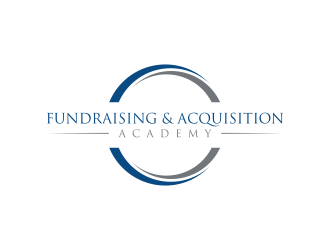 Fundraising & Acquisition Academy logo design by Editor