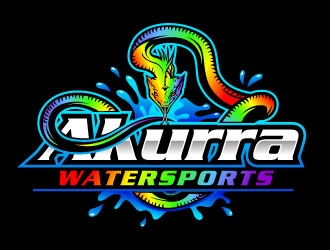 Sea Serpent / Akurra Watersports logo design