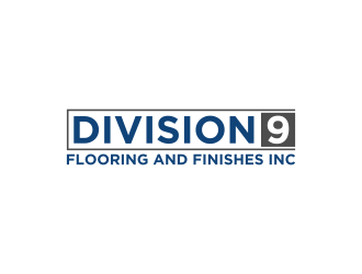 Division 9 Flooring and Finishes Inc logo design by rian38