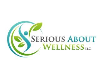 Serious About Wellness LLC logo design winner