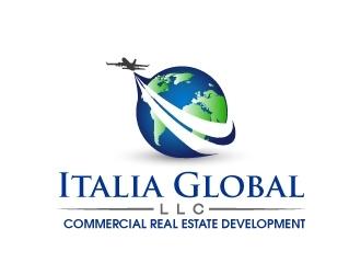 Italia Global, LLC. logo design winner