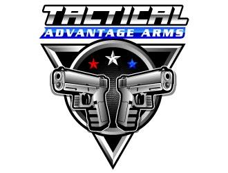 Tactical Advantage Arms logo design