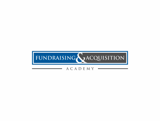 Fundraising & Acquisition Academy logo design by Franky.