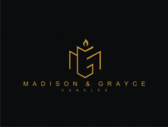 Madison & Grayce Candles logo design