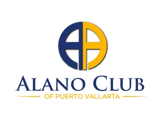 Alano Club of Puerto Vallarta logo design by Kirito