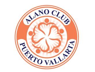Alano Club of Puerto Vallarta logo design by Roma