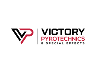 Victory Pyrotechnics & Special Effects Logo Design