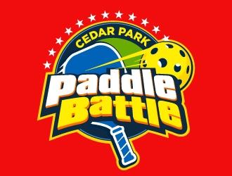 Cedar Park Paddle Battle  logo design