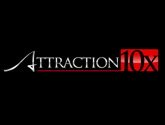 Attraction10x logo design