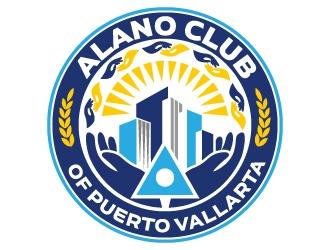 Alano Club of Puerto Vallarta logo design by jaize