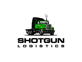Shotgun Logistics logo design