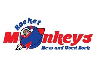 Rocket Monkey logo design by creativemind01