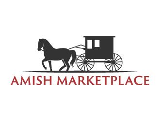 Amish Marketplace logo design
