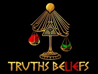 Truths Beliefs logo design
