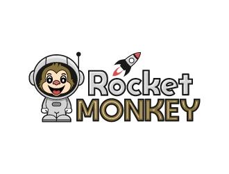 Rocket Monkey logo design by iamjason