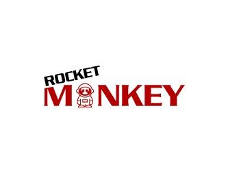 Rocket Monkey logo design by Creativeminds