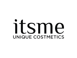 itsme Unique Costmetics logo design