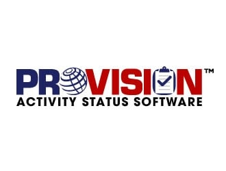 ProVision Activity Status Software logo design