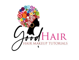 Good Hair logo design