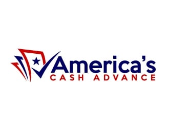 Americas Cash Advance  logo design