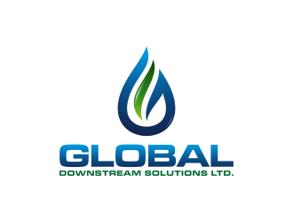 Global Downstream Services Ltd.  logo design